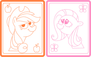 Pony Picture Thingies by Mochi--Pon