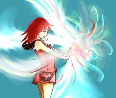 Kairi Magic by rhapsody14