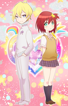 space patrol Luluco by BOMHAT