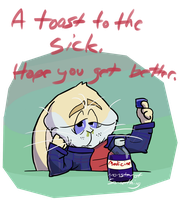To the Sick by Monster-of-Something