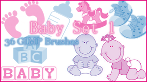 GIMP Baby Set1 by Illyera