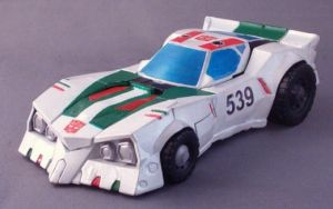 Wheeljack Car Mode by Shinobitron