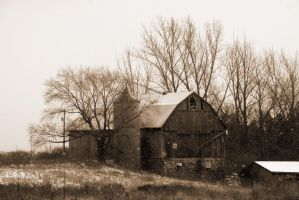 Old Barn 4 by rebelx