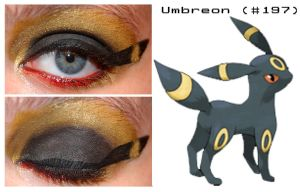 Pokemakeup 197 Umbreon by nazzara