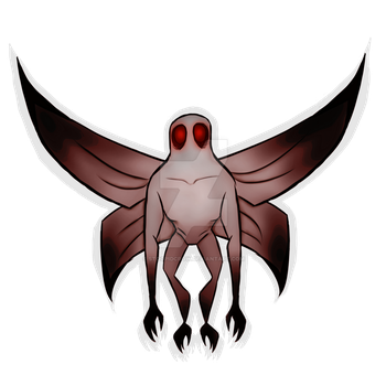 Mothman by stoopidcrow