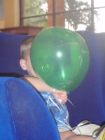 Boy and Balloon by Anglnballerina