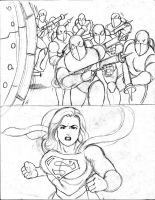 supergirl m7 by rogelioroman