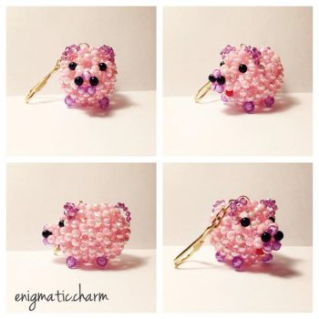 Piggy Bead art by enigmatic-charm