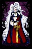 Lady Death Sketchcard AllStars by dsoloud
