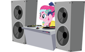 DJ Pink-E by sircinnamon