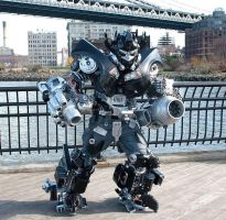 Brooklyn Ironhide by BrooklynRobotWorks