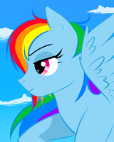 Rainbow Dash by vaelarsa