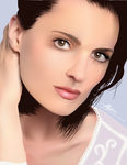 Vector Portrait - Stana Katic by mlw05