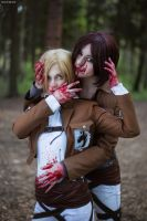 Ymir and Annie by AlienOrihara