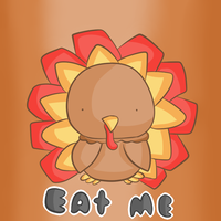Gobble Gobble Happy Thanksgiving by thegamingdrawer