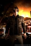 Leon Kennedy Tall Oaks by ceriselightning