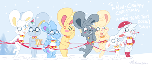 Have yourself a Merry Bunny Christmas by Machu
