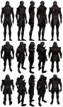 Mass Effect 2, Feron Reference. by Troodon80