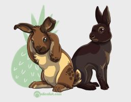 bunday - shawn and gus by alienfirst