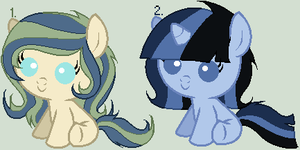 More Filly Adoptables - Closed by sararini
