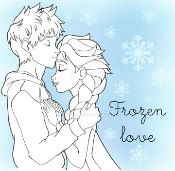 Jack and Elsa by aniee14