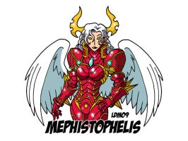 Demon Lord V - Mephistophelis by Lorddragonmaster