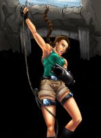 Lara Croft - Tomb Raider by SquallLeonhart245