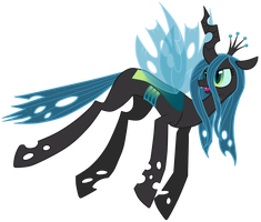 Queen Chrysalis by verca555666