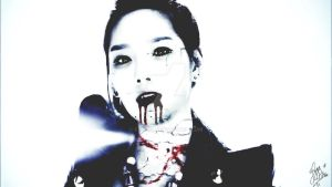 Taeyeon Decayed Vampired by fatz18