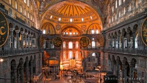 Constantinople Agia Sofia int by etsap