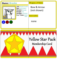 Brooke Membership card by AutumnMiracles