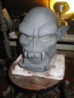 ork latex mask 2011b-2 by damocles-shop
