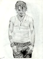 Johnny Depp by miserable-dreamer