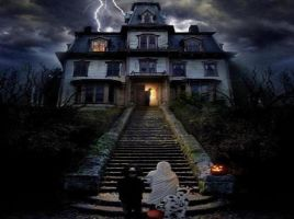 Haunted House Halloween by myjavier007