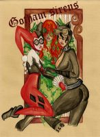 gotham city sirens by LeonieLanuit