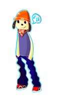 Parappa The Rapper by FaithTheArtist