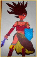 Treasure Hunter Red - Dragon Quest VIII by BardofMaple