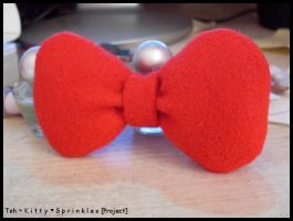 Hello Kitty Bow by Kitty-Sprinkles