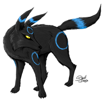 Umbreon by D-Strada