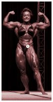 Mature female muscle by schizoshiva77