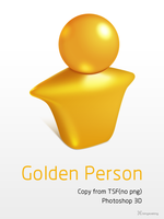 Golden Person by bingxueling