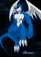 Exveemon For REal by DarkDragon563