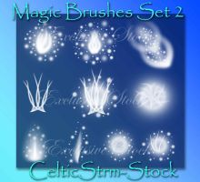 Magic Brushes 2 by CelticStrm-Stock by CelticStrm-Stock