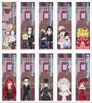 Chibi Blackbutler Bookmarks by DannimonDesigns