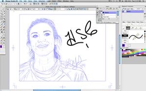 Hope Solo WIP 1 by LCMorganTDA