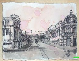 Old_Bucharest_Grivita_Buzesti by torr3z