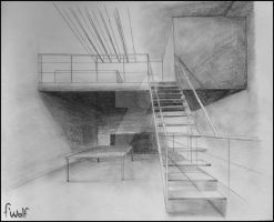 Artist house Perspectiv' by Phlo-Ra