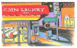 Laundry in Los Angeles by rudat