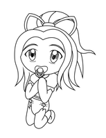 Chibi Line Art Request for diaperjk7 by Blood-B0xer