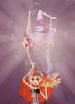 The Aerialist and the Conjurer by efyri